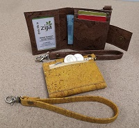 cork keyfob wallets